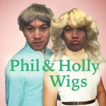 Philip Schofield & Holly Willoughby Fancy Dress Wigs